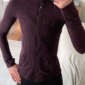 Lululemon Define Jacket - Maroon - Size 6